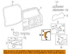 TOYOTA OEM 06-08 RAV4 Back Door-Trim Cover Left 7680442010J1