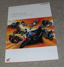 Honda Motorcycle Range Brochure 2006