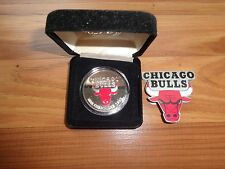 CHICAGO BULLS NBA Champions 1 troy ounce of .999 Silver