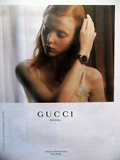 PUBLICITE-ADVERTISING :  GUCCI Collection Diamantissima  2015 Montres