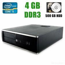HP Elite 8200 SMALL PC Intel Core i5-2400 / 4GB RAM / 500GB HDD / Windows 10 Pro