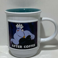 Disney Villain Meme Coffee Mug Ursula The Little Mermaid Before Coffee