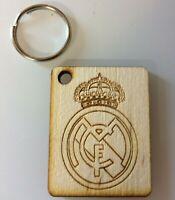 Real Madrid FC keyring - High Quality Engraved - Detailed Design