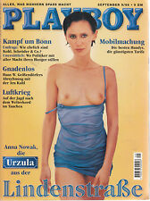 Playboy Nr. 9 1998 mit Poster / Anna Nowak / Herrenmagazin