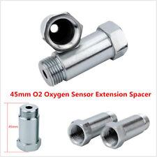 2Pcs New Straight O2 Oxygen Sensor M18 X 1.5 CEL 45mm Extension Spacer Extender
