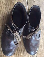 Vintage Children's Leather Clogs c1920s