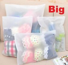 FD5216 Useful Waterproof Zipper Storage Bag For Travel Home Cosmetic ~Big~ 1pc ♫
