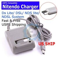 AC Adapter Home Wall Charger Cable for Nintendo Ds Lite/ DSL/ NDS lite/ NDSL USA