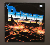 RAILWAY - Railway Vinyl LP Record VG Roadrunner Records 1984 Netherlands Press