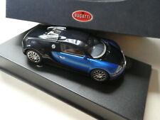AUTOart 50907 1/43 Bugatti EB 16.4 Veyron  (Black/Blue) OVP #999 xx