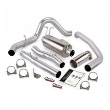 03-07 FORD 6.0L DIESEL CREW CAB LONG BED BANKS SINGLE MONSTER EXHAUST SYSTEM.