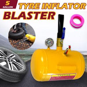5 Gallon / 20L Bead Blaster Tyre Air Tank Tire Inflator Seater 4WD Car ATV Truck