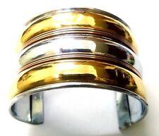 Copper Brass Oxidized Cuff Bracelet Charms Kada Wristlet Band Bangle Jewelry 46