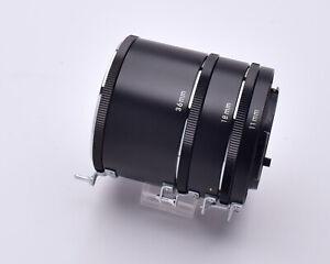 Unbranded 3-Piece Auto Extension Tube Set for Nikon F Mount Japan (#7897)