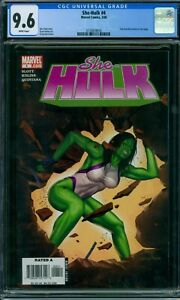 She-Hulk 4 CGC 9.6 - White Pages