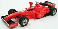 Minichamps 1/43 Scale Model Car 36080A - 2002 Ferrari F - Red