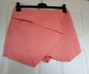 Great Condition Topshop Pink Skort Size 10
