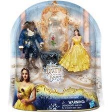 New Disney Beauty and the Beast Enchanted Rose Scene Doll/Figurine Set