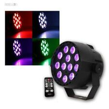COPPIA Riflettore DMX par-mini-rgb3 12X3W LED DJ CLUB PARTY FARETTO