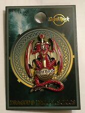 Hard Rock Cafe GUAM USA 2017 Dragon & Dagger Series Pin New Mint