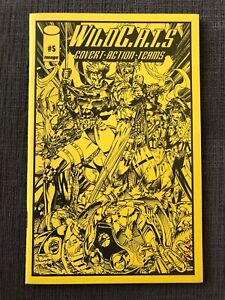 Wildcats Ashcan Comic #5 Numbered Jim Lee Special Foldout Edition