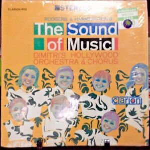 DIMITRI'S HOLLYWOOD ORCHESRTRA & CHORUS The Sound of Music Album Released 1964