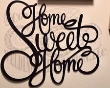 home sweet home metal sign, gallery wall, art, home decor