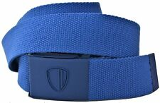 Cintura Uomo Ben Sherman Blu Belt Men Cobalt Blue Canvas L/XL