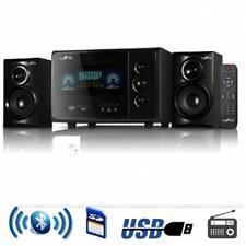 NEW*beFree 2.1 CHANNEL Surround Sound*BLUETOOTH*Speaker System*USB/SD/FM*BLACK