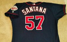 Johan Santana Circa 2002 Minnesota Twins Game Used Jersey! Mets! LOA!!