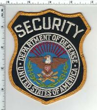 Department of Defense Security Uniform Take-Off Shoulder Patch from the 1980's
