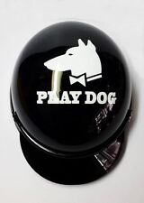 Helmet Hat Cap Dog Cat Costume Accessory Pet Supplies Safety Black PLAYDOG Goods