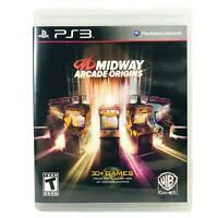 Midway Arcade Origins (2012) - Sony Playstation 3 PS3 Compilation Video Game