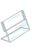 Single Sided Sign Holder in Acrylic Finish 7 H x 11 W Inches - Box of 10