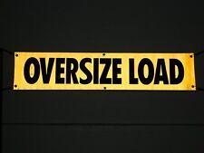 "MS CARITA AVR104 18"" x 84"" Oversize Load Sign Reflective Vinyl w/Grommets"