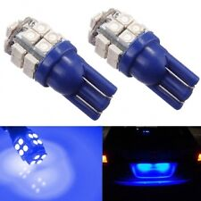 2 X T10 W5W LED 20XSMD Blue Parkers Parking Light Bulbs Car BRIGHT!