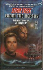 Star trek novel From the Depths by victor milan nice