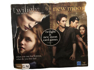 Twilight And New Moon The Movie Card Games-NIB