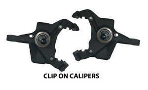 """1973-1991 Chevy C30 Lowering Spindles 3"""" Drop for Clip On Calipers"""