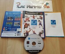 PLAY STATION 2 PS2 ATHENS 2004 COMPLETO PAL ESPAÑA