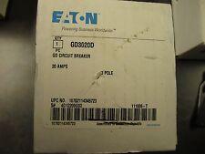 NEW EATON GD3020D INDUSTRIAL CIRCUIT BREAKER 20A
