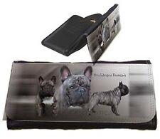 Frauen Geldbörse Brieftasche Französische Bulldogge 3 gestromt French Bulldog