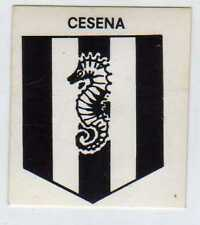 FIGURINA SCUDETTO GOAL CREMA 1976/77-CESENA