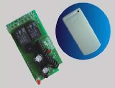 Radio ricevitore 433MHz frequenza 2 Rele  per telecomando cancelli serrande