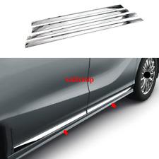 FOR Honda 2018-2020 Odyssey ABS Chrome Body Door Side Molding Cover Trim 4pcs