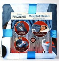 "Franco Manufacturing Co Disney Frozen II Olaf 36"" X 48"" 4.5 Lbs Weighted Blanket"