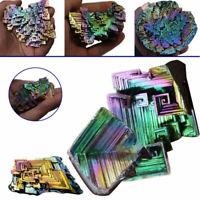 50g Bunte Bismut Wismut Kristalle Hohe Reinheit Wismut Metall Kristall Probe