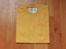 NWT Abercrombie & Fitch Crew Pocket T- Shirt Yellow By Hollister Medium