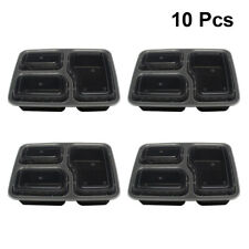10pcs Meal Prep Containers Food Storage Disposable Lunch Boxes for Picnic School
