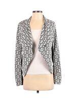 41 Hawthorn Stitch Fix Women Open Drape Catania Knit Jacket Small Damask Moto
